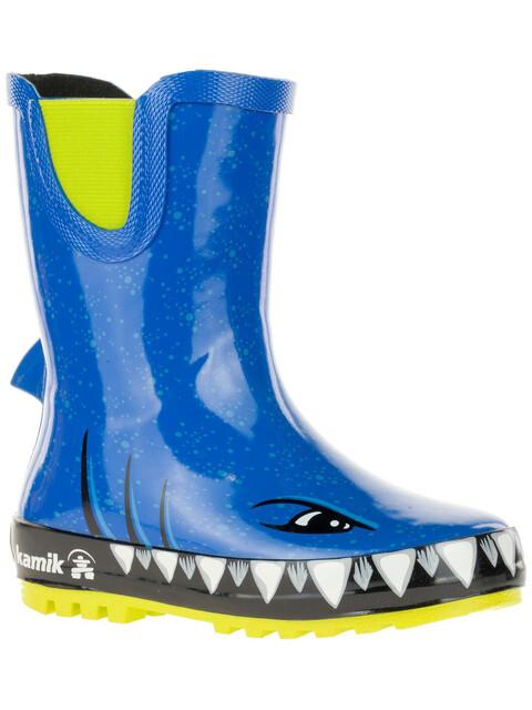 Kamik Sharky Rubber Boots Kids Strong Blue